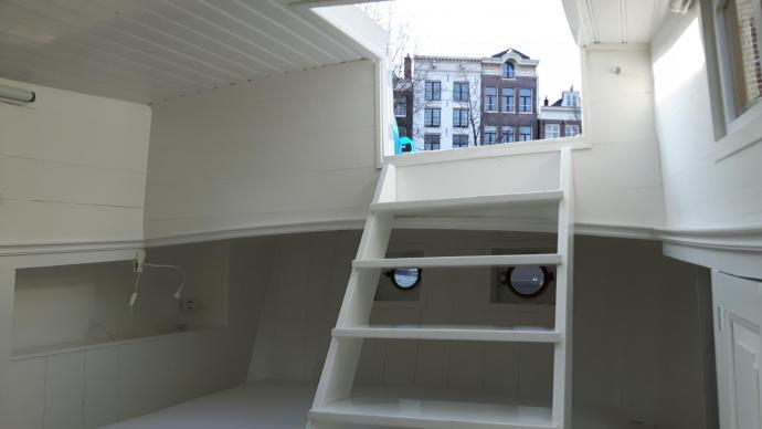 woonboot amsterdam binnenkant